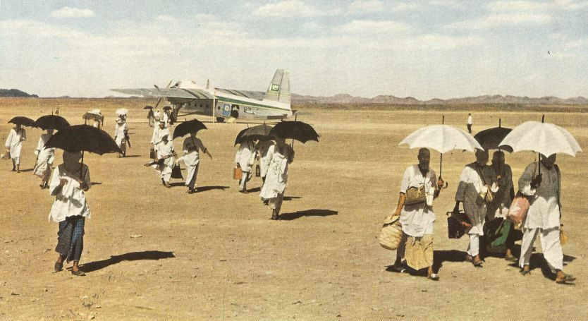 arriving-by-plane-to-hajj