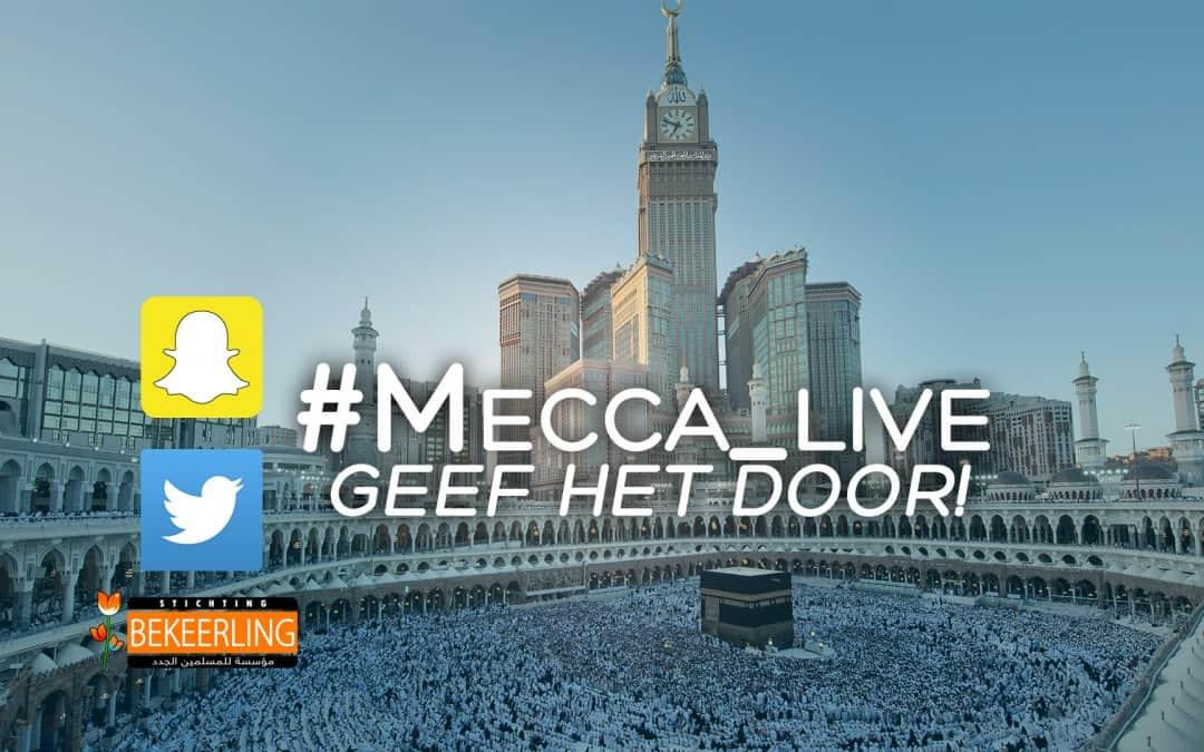 De leukste Tweets door niet-moslims over de #Mecca_live campagne
