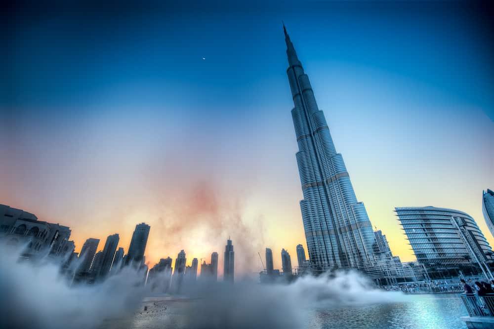 Vasten verbreken in de Burj Khalifa? Heb sabr!
