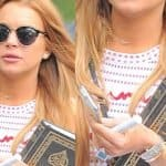 """Ook Lindsay Lohan """"bekeert"""" zich tot de Islam"""