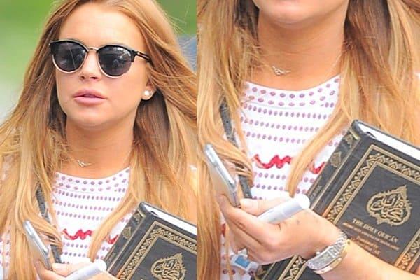 Lindsey Lohan over het 'bekeren' tot de Islam