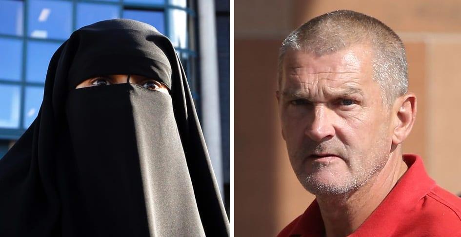 Moslima vraagt rechtbank om de man die haar niqab aftrok vrij te pleiten