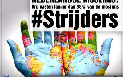 Nederlandse moslims behoren tot de 2% die het langste vasten