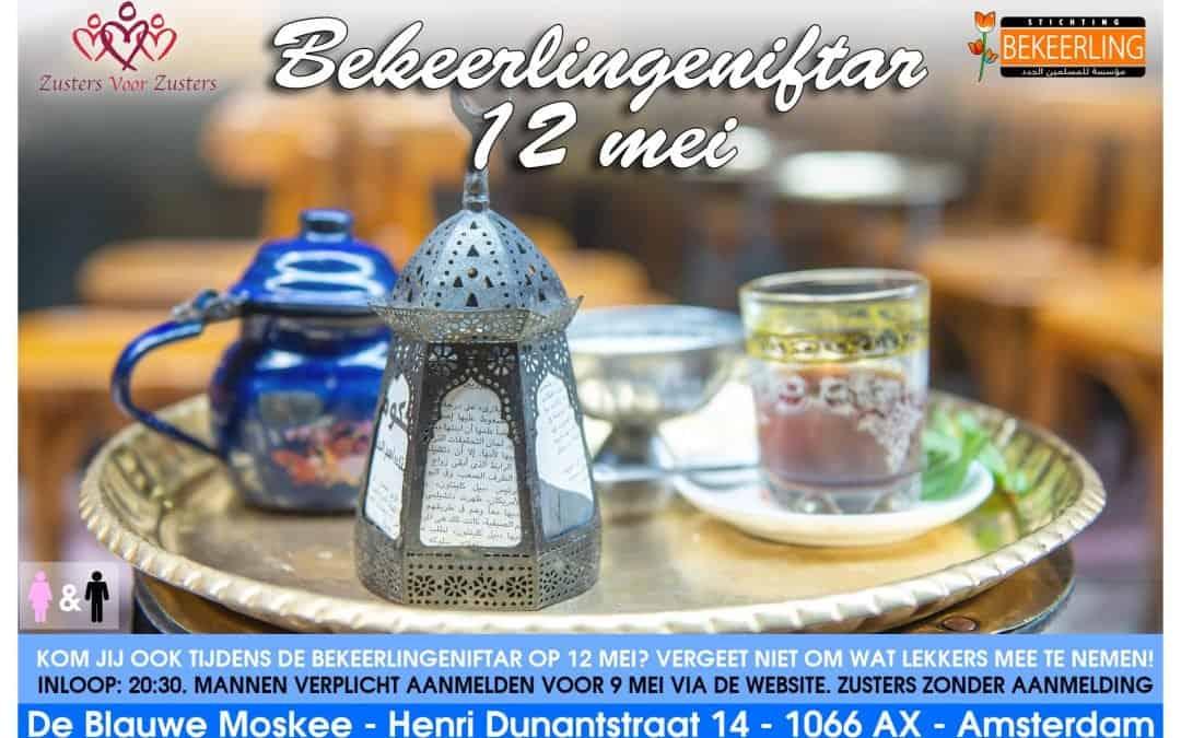 Bekeerlingeniftar 12 mei 2019 te Amsterdam
