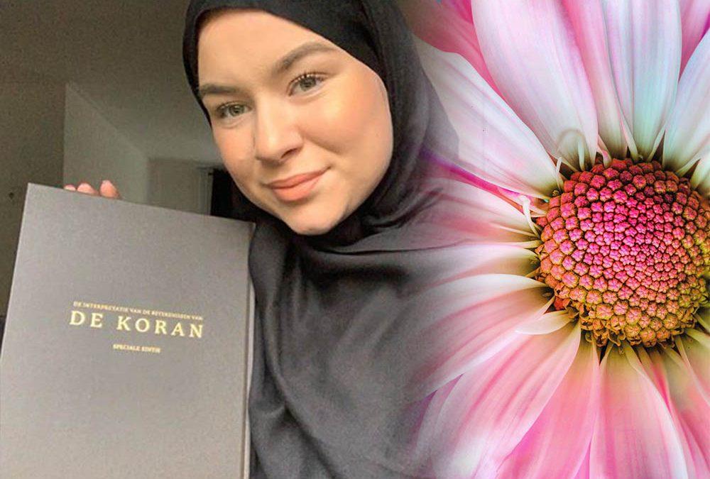"""Deze afscheid was het teken voor mijn begin. """"De Islam hoort bij mij, en ik hoor bij de Islam."""""""