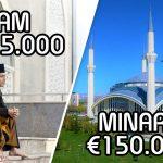 Minaret: €150.000 – Imam: € 15.000 (?!)