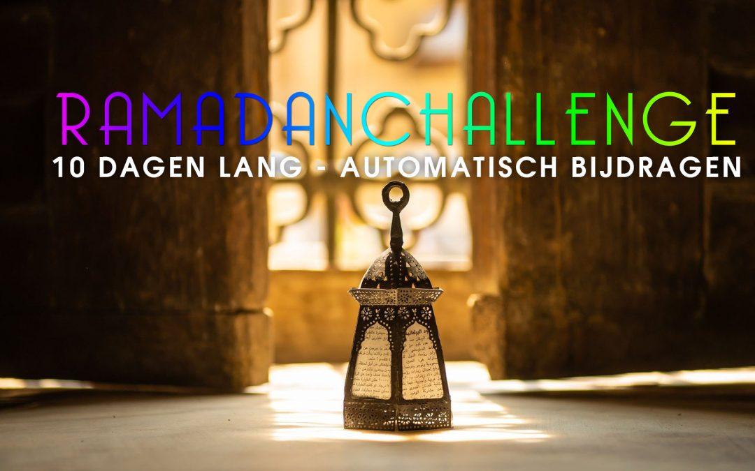 Ramadan Challenge 2020 Laatste 10 Dagen automatisch bijdragen aan een goed doel