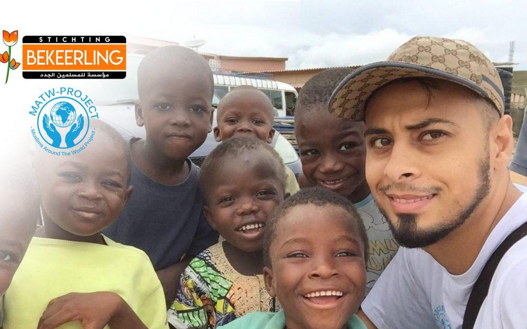 MATW – Ali Banat: Stichting Bekeerling draagt bij voor de bouw van waterputten, moskee, en het sponsoren van weeskinderen