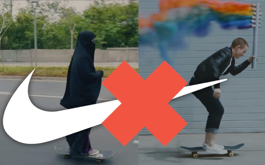 """Nike's walgelijke anti Moslima Campagne """"You Can't Stop Us"""" zet kwaad bloed bij moslims"""